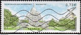 Oblitération Moderne Sur Timbre De France N° 5124 Paris - Butte Montmartre -> Sacré Coeur, Moulin - Usati