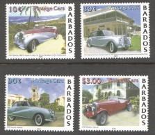 BARBADOS 2000   Bentley And Austin Vintage Cars  - UM -MNH - Barbados (1966-...)