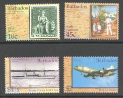 BARBADOS 2002  Inland Post  150th Annn  UM - MNH - Barbados (1966-...)