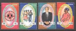 BARBADOS 2002  Pan American Health Organization  MM - MH - Barbados (1966-...)