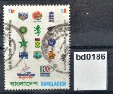Bd0186 ICC Cricket World Cup England 1999, Emblems, Bangladesh 1999 - Bangladesh