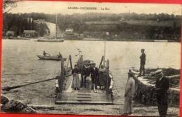 76 GRAND-COURONNE - Le Bac - Animée - France