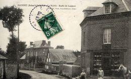 76 HAUSSEZ (422 Hab.) - La Mairie - Route De Laumon - Devanture De Commerce Animée - France