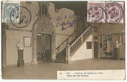 ATH - Intérieur De L'Hôtel De Ville - Salle Des Pas Perdus. 1911 - Ath