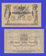 Germany  1861 Preussen Berlin 1 Thaler    -  REPLICA  COPY   REPRODUCTION - Germany