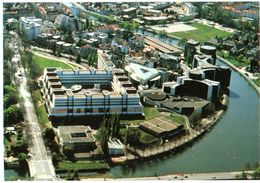 Strasbourg Vue Aerienne Du Conseil De L'europe 1997 CPM Ou CPSM - Strasbourg