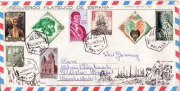 355f * SPANIEN * BRIEF NACH DORTMUND * GESTEMPELT **!! - 1931-Heute: 2. Rep. - ... Juan Carlos I