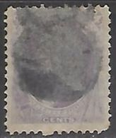 US  1870  Sc#153  24c Used  2016 Scott Value $230  Faded With  Smudge Cancel - Oblitérés