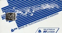 ANDORRE  TELECARTE 50 UNITATS... - Andorra