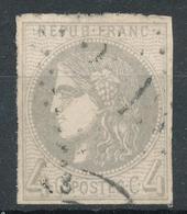 N°41A REPORT I TIMBRE 1er CHOIX. - 1870 Emission De Bordeaux
