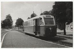 RIEMST - Tram - Uit 1953 - Foto Oude Postkaart Formaat Uitgever Bazin - Riemst