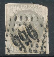 N°41B REPORT 2 - 1870 Bordeaux Printing