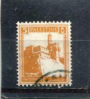 PALESTINE. 1927. SCOTT 67. CITADEL AT JERUSALEM - Palestine