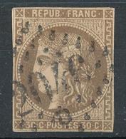 N°47 BORDEAUX NUANCE VOIR DESCRIPTIF. - 1870 Bordeaux Printing
