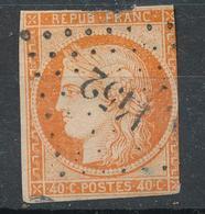 N°5 LOSANGE P.C. VOIR DESCRIPTIF - 1849-1850 Cérès