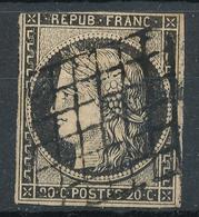 N°3 GRILLE 1849 - 1849-1850 Cérès