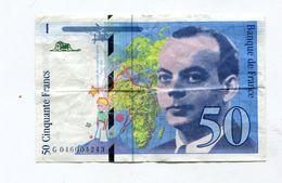 Billet De 50 F 1996   :   ST EXUPERY       A   VOIR   !!! - 1992-2000 Dernière Gamme