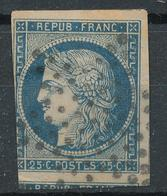 N°4  AVEC VOISIN VOIR DESCRIPTIF. - 1849-1850 Cérès