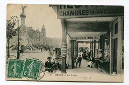 CPA 51 :   REIMS   Place D'Erlon   A  VOIR  !!!!!!! - Reims