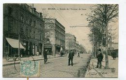 CPA 51 :   REIMS   Entrée Avenue De Laon   A  VOIR  !!!!!!! - Reims