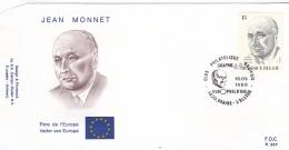 Belgium FDC 1988 Monnet (G90-7) - FDC
