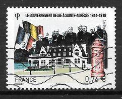 FRANCE 4933 Gouvernement Belge à Saint Adresse Oblitéré - France