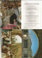 PASSION OBERAMMERGAU 1990 12 SERIE I OFFIZIELLE FARBOSTKARTEN  (101) - 5 - 99 Cartoline