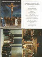 PASSION OBERAMMERGAU 1990 12 SERIE I OFFIZIELLE FARBOSTKARTEN  (102) - 5 - 99 Cartoline