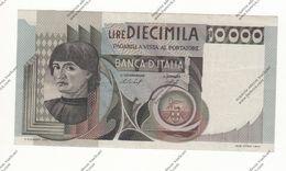 BANCONOTA DA 10.000 LIRE MACCHIAVELLI REP. ITALIANA - - [ 2] 1946-… : République