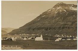 Real Photo Seydisfjordur Village - Islande