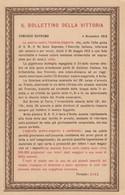 11663-COMUNICATO STORICO-PROCLAMA DEL GENERALE DIAZ-1918-FP - Guerra 1914-18