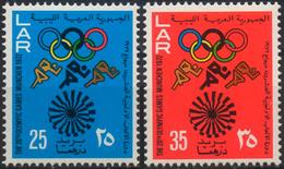 //// JO 1972 - Lybie Y. 456 - 457** - M. 399 - 400** - Ete 1972: Munich