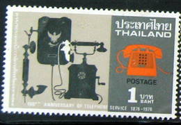 Thailand Stamp 1976 100th Ann Of The Telephone Service - Thailand