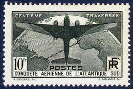 France - Traversée De L'Atlantique-Sud - N° 321 Neuf Avec Charnière. - Neufs