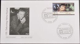 DEUTSCHLAND 2008 Mi-Nr. 2654 FDC - FDC: Enveloppes