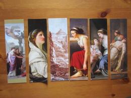 Lot De 6 Marque-pages De L'artiste Joseph Benoit Suvee. Expo Musee Des Beaux-Arts A Tours, 2017 - Bookmarks