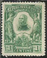HAITI 1904 PRESIDENT Pierre Nord- Alexis PRESIDENTE CENT. 1c MNH - Haiti