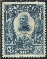 HAITI 1904 PRESIDENT Pierre Nord- Alexis PRESIDENTE CENT. 5c MH - Haiti