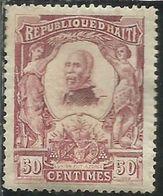 HAITI 1904 PRESIDENT Pierre Nord- Alexis PRESIDENTE CENT. 50c MNH - Haiti