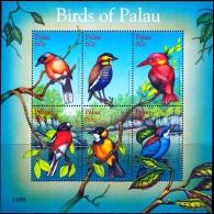 BIRDS OF PALAU- MS-SCARCE-MNH-M-204 - Climbing Birds