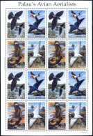 BIRDS- AVIAN AERIALISTS-SHEET- PALAU-1995-SCARCE-MNH-M-215 - Climbing Birds