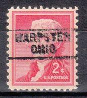 USA Precancel Vorausentwertung Preo's, Locals Ohio, Harpster 745 - Vereinigte Staaten