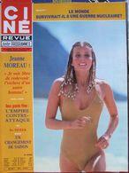 Ciné Télé Revue N°33 (14 Août 1980) Jeanne Moreau - Lucia Bose - - Televisione