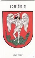 11680-CARTA TELEFONICA - LITUANIA-LIETUVO TELEKOMAS - JONISKIS - USATA - Lituania