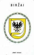 11681-CARTA TELEFONICA - LITUANIA-LIETUVO TELEKOMAS - BIRZAI - USATA - Lituania