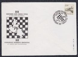 Yugoslavia 1976 19th International Team Chess Festival On Krk Island, Commemorative Cover - Schach