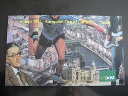 Irlande 1991 C758 - Dublin Capitale Européenne De La Culture - Libretti