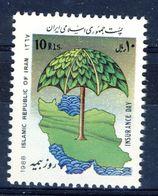 +D2710. Iran 1988. Insurance. Michel 2313. MNH(**) - Irán