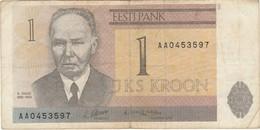 Estonia 1 Kroon 1992 - Estonia