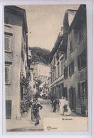 OUDE POSTKAART ZWITSERLAND - SCHWEIZ -       1900'S - WEESEN - GEANIMEERD - SG St. Gallen